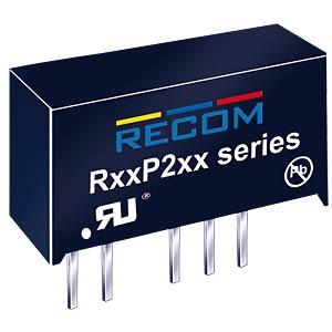 DC/DC, 2 W, 5 V, 400 mA, Single RECOM 10003736