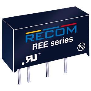 DC/DC-Wandler REE, 1 W, 5 V, 200 mA, SIL-7, Single RECOM 10016267