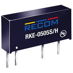 DC/DC-Wandler, 5 V, 200 mA, Single RECOM 10016994