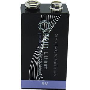 Lithium, 9-V-Block, 10er-Pack RND POWER