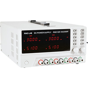 Labornetzgerät, 0 - 30 V, 0 - 5 A, stabilisiert, programmierbar RND LAB RND 320-KA3305P