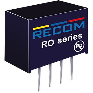 DC/DC-Wandler, 5 V, 200 mA, Single RECOM 10003342
