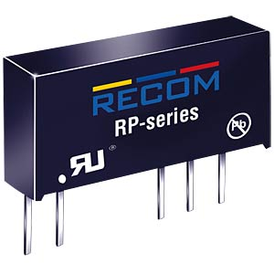 DC/DC-Wandler, 5 V, 200 mA, Single RECOM 10000659