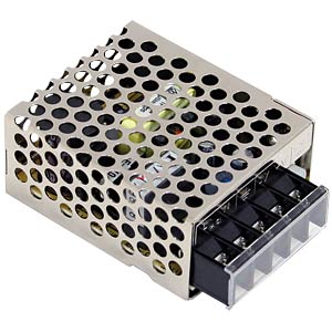 Switching power supply, 15 W, 0.62 A, 24 V MEANWELL RS-15-24