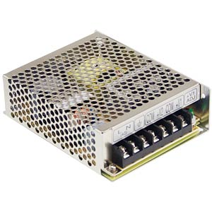 Switching power supply, 76.8 W, 3.2 A, 24 V MEANWELL RS-75-24