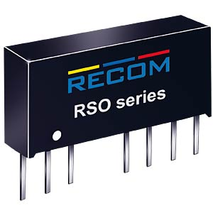 DC/DC-Wandler, 5 V, 200 mA, Single RECOM 10005085