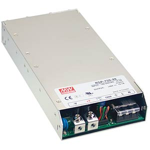 Switching power supply, slim, 750 W, PFC, 15 V/50 A MEANWELL RSP-750-15