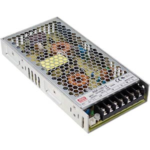 Switching power supply, PFC, 150 W, 15 V/10 A MEANWELL RSP-150-15