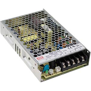 Switching power supply, PFC, 76 W, 12 V/6.3 A MEANWELL RSP-75-12