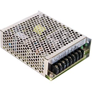 Switching power supply, triple output, 66 W, 5/12/-5 V MEANWELL RT-65A
