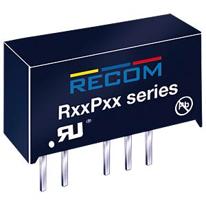 DC/DC-Wandler, 5 V, 200 mA, 1 W, Single RECOM 10002714
