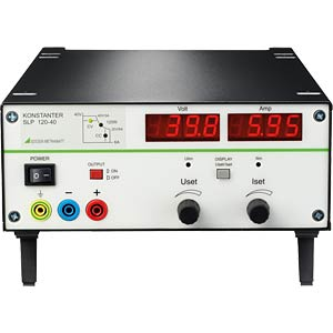 Labornetzgerät, 0 - 40 V, 0 - 12 A, analog steuerbar GOSSEN METRAWATT K231A