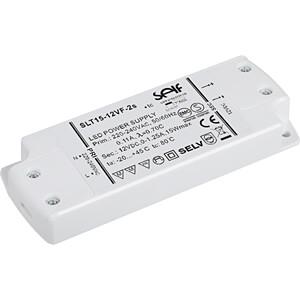Self Electronics SLT15-12VF-2S LED-Trafo LED-Treiber Konstantspannung 15W 1.25A