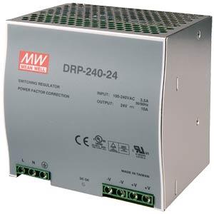 Schaltnetzteil, DIN-Montage, 48V / 5,0A / 240W MEANWELL DRP-240-48