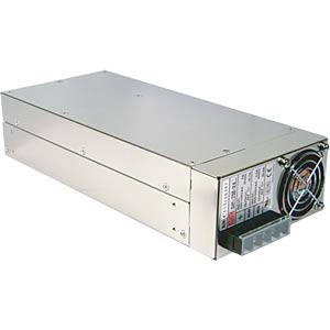 Switching power supply, PFC, 75 W, 12 V/62.5 A MEANWELL SP-750-12