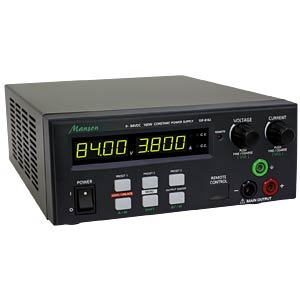 Laboratory power-supply unit, 160 W, 0-84 V, 0-5 A, USB MANSON SSP-8162