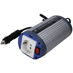 Wechselrichter + USB-Port 12 V, 230 V, 150 W HQ HQ-INV150WU-12