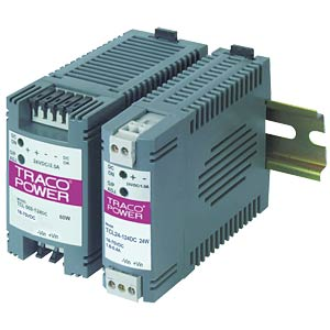 DC/DC-Wandler TCL-DC, 60 W, 12 V, 5000 mA, Hutschienenmontage TRACO TCL 060-112 DC