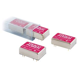 DC/DC converter, TEN-5 series, 18 - 36/±5 V DC TRACO TEN 5-2421