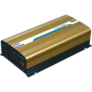 Power Inverter, real Sinus, 1500 W, 12 V TITAN HW-1500UX