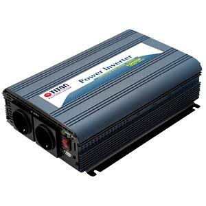 Wechselrichter, Sinus, 1000 W, Schutzkontakt TITAN HW-1000V6
