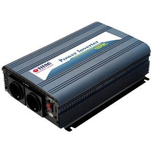 Wechselrichter, Sinus, 1000 W, Schutzkontakt TITAN HW-1000V7