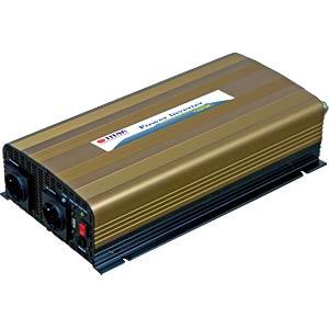 Power Inverter, real Sinus, 1500 W, 24 V TITAN HW-1500U7