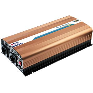 Power Inverter, real Sinus, 1500 W, 12 V TITAN HW-1500UT