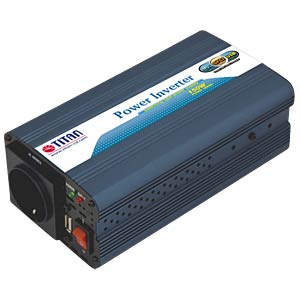 Power Inverter, mod. Sinus, 150 W, 12 V TITAN HW-150V6
