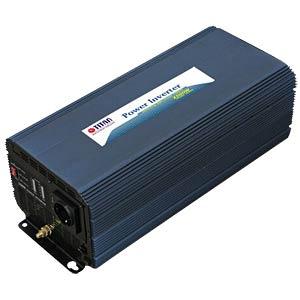 Wechselrichter, modifizierte Sinuswelle, 2500 W, Schutzkontakt TITAN HW-2500V7