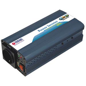 Power Inverter, mod. Sinus, 300 W, 12 V TITAN HW-300V6