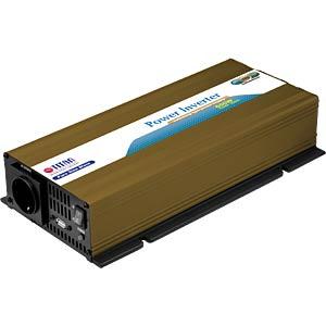 Wechselrichter, real Sinus, 600 W, 12 V TITAN HW-600U6