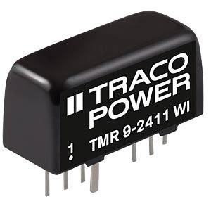 DC/DC-Wandler TMR 9WI, 9 W, 12 V, 375 mA, SIL-8 TRACO TMR 9-2422WI