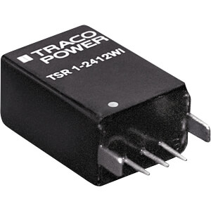 DC/DC-Wandler TSR 1WI, 1 A, 9-72/3,3 VDC, SIL-3 TRACO TSR 1-4833WI