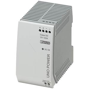Power supply unit - UNO-PS, 8.3 A, 12 V DC, 100 W PHOENIX-CONTACT 2902997