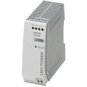 Voeding - UNO-PS, 3,7 A, 15 V DC, 55 W PHOENIX-CONTACT 2903001