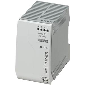 Power supply unit - UNO-PS, 4.2 A, 24 V DC, 100 W PHOENIX-CONTACT 2902993