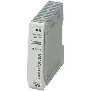 Power supply unit - UNO-PS, 1.25 A, 24 V DC, 30 W PHOENIX-CONTACT 2902991