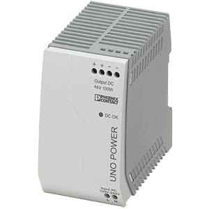 Power supply unit - UNO-PS, 2.1 A, 48 V DC, 100 W PHOENIX-CONTACT 2902996