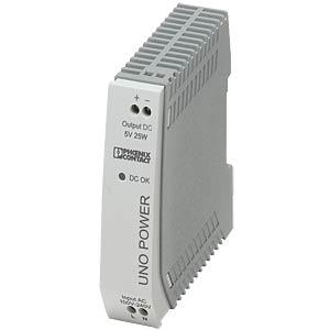 Stromversorgung - UNO-PS, 5 A, 5 V DC, 25 W PHOENIX-CONTACT 2904374
