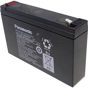 Blei-Vlies-Akku, 6 V, 7,5 Ah, speziell für USV's PANASONIC UP-VW0645P1