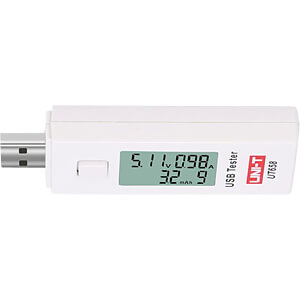 Compteur USB, Tension, Courant, Courant, Alimentation UNI-TREND UT658