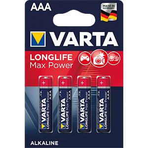 VARTA MaxPower, LR3, 4 st.-pak VARTA 04703 101 404