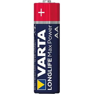 MaxPower, Alkaline Batterie, AA (Mignon), 4er-Pack VARTA 04706 101 404