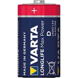 MaxPower, Alkaline Batterie, D (Mono), 2er-Pack VARTA 4720101402