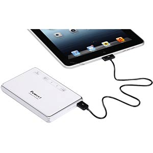 Powerbank, 12,600 mAh, with touch function, white VITEBO VTB-58 WS