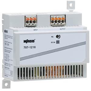 Schaltnetzteil, Hutschiene, 100 W, 24 V, 4,2 A WAGO 787-1216