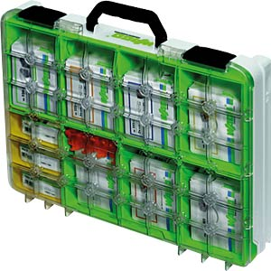 WAGO Klemmen-Sortimentsbox, Klarsichtdeckel WAGO 887-910