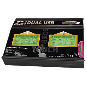 Ladegerät X-Peak 100 Touch Dual-USB JAMARA 153090