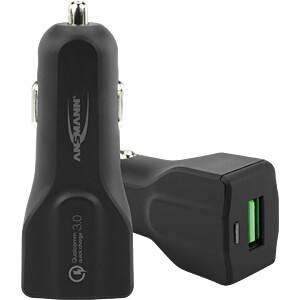 USB Ladegerät, 5 V, 3000 mA, KFZ ANSMANN 1000-0024